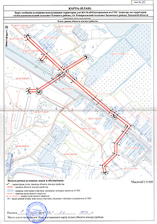 Границы зоны схема расположения фото 598